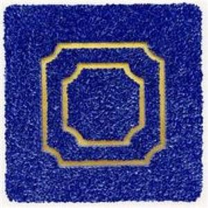 """""""divisions (blue)"""" (einteilungen [blau]) by lore bert"""